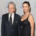 Catherine Zeta-Jones dan Michael Douglas di Children of Chernobyl's 2011