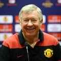 Alex Ferguson di Konferensi Press UEFA