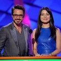 Robert Downey Jr. dan Miranda Cosgrove di Kids' Choice Awards 2012