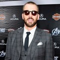 Chris Evans di Premiere 'The Avengers'
