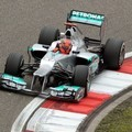 Michael Schumacher Berjuang di GP F1 China 2012