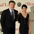 Alec Baldwin dan Hilaria Thomas di Premiere 'To Rome with Love'