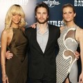 Rihanna, Taylor Kitsch dan Brooklyn Decker di Photocall 'Battleship'