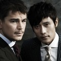 Lee Byung Hun dan Josh Hartnett di Majalah Vogue