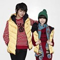 Seo In Guk dan IU di Katalog Fashion Unionbay Edisi Winter 2011