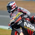 Colin Edwards dari Tim NGM Mobile Forward Racing