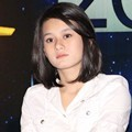 Dinda Hauw Saat Jumpa Pers Indonesian Movie Awards 2012