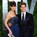 Katie Holmes dan Tom Cruise di Vanity Fair Oscar Party 2012