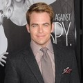 Chris Pine di Premier 'This Means War'