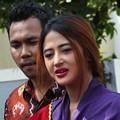 Dewi Persik dan Tim DPP GANNAS Saat Berkunjung ke Rutan Wanita Pondok Bambu