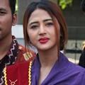 Dewi Persik Saat Berkunjung ke Rutan Wanita Pondok Bambu