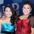 Kamasean dan Regina di Konferensi Pers Grand Final 'Indonesian Idol'