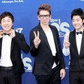 Busker Busker di Blue Carpet Mnet 20's Choice Awards 2012