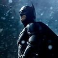 Christian Bale Sebagai Batman/Bruce Wayne di Poster Film 'The Dark Knight Rises'