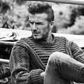 David Beckham di Majalah Esquire Edisi September 2012