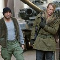 Aksi Randy Couture, Dolph Lundgren dan Terry Crews di Film The Expendables 2