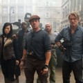 Sylvester Stallone, Nan Yu, Terry Crews, Randy Couture, dan Dolph Lundgren di Film The Expendables 2
