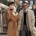 Michelle Williams dan Dougray Scott di My Week With Marilyn