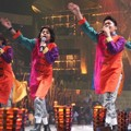 Penampilan Coboy Junior di Hut Global TV ke-10