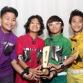 Coboy Junior Menang di Kategori Rising Star Of The Year 2012