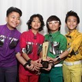 Coboy Junior Raih Penghargaan Rissing Star of The Year 2012