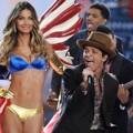 Penampilan Bruno Mars dan Lily Aldridge di Victoria's Secret Fashion Show 2012