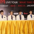 2PM Saat Jumpa Pers 'What Time Is It 2PM Live Tour In Jakarta'