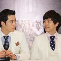 Chansung dan Junho 2PM Saat Jumpa Pers 'What Time Is It 2PM Live Tour In Jakarta'