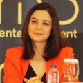 Preity Zinta Saat Jumpa Pers 'Temptation Reloaded Live in Concert'