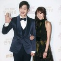 Kim Jae Won dan Son Dambi di Red Carpet MBC Drama Awards 2012