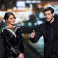 Josh Hutcherson, Jennifer Lawrence dan  Liam Hemsworth Terima Piala Favorite On-Screen Chemistry