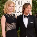 Nicole Kidman dan Keith Urban di Red Carpet Golden Globe Awards 2013
