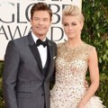 Ryan Seacrest dan Julianne Hough di Red Carpet Golden Globe Awards 2013