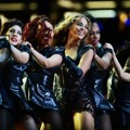 Aksi Beyonce Knowles di Konser Super Bowl 2013