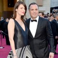 Sunrise Coigney dan Mark Ruffalo di Red Carpet Oscar 2013
