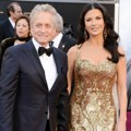 Michael Douglas dan Catherine Zeta-Jones di Red Carpet Oscar 2013