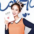 Song Ji Hyo di Katalog Fashion Yesse Edisi Musim Semi 2013