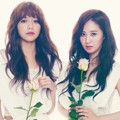 Kwon Yuri dan Sooyoung Girls' Generation di Majalah The Star Edisi April 2013