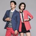 Gong Yoo dan Go Jun Hee di Katalog Fashion Mind Bridge