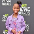 Quvenzhane Wallis di Red Carpet MTV Movie Awards 2013