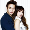 Minho SHINee dan Victoria f(x) di Majalah High Cut Edisi April 2013