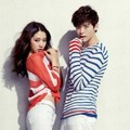 Park Shin Hye dan Lee Jong Suk di Katalog Fashion Jambangee Edisi Musim Panas 2013