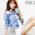 Sooyoung Girls' Generation di Majalah High Cut Edisi Mei 2013