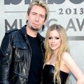 Chad Kroeger dan Avril Lavigne di Blue Carpet Billboard Music Awards 2013