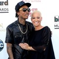 Wiz Khalifa dan Amber Rose di Blue Carpet Billboard Music Awards 2013