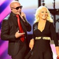 Duet Pitbull dan Christina Aguilera Meriahkan Billboard Music Awards 2013