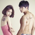 Go Jun Hee dan Jinwoon 2AM di Pemotretan 'We Got Married'