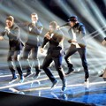 NSYNC Tampil Bersama di Panggung MTV Video Music Awards 2013