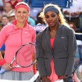 Victoria Azarenka dan Serena Williams di Laga Final Tunggal Putri US Open 2013