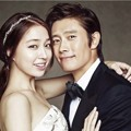 Lee Min Jung dan Lee Byung Hun di Majalah Elle Edisi September 2013
